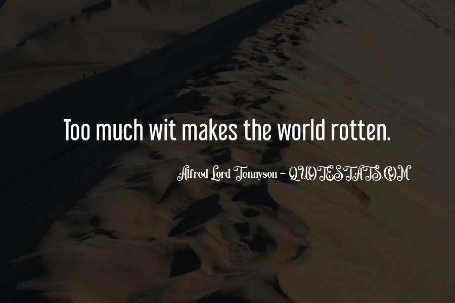 Tennyson Alfred Quotes #139552