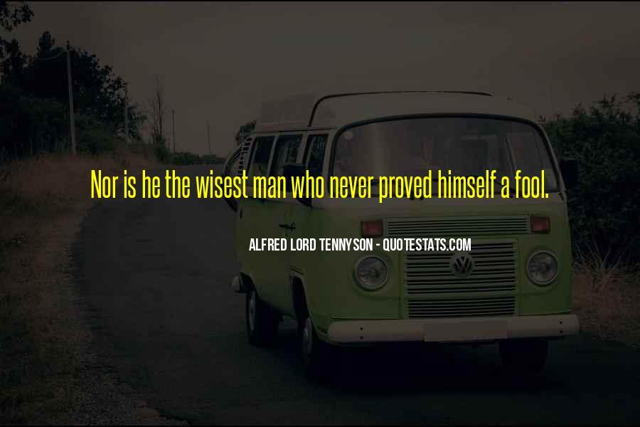 Tennyson Alfred Quotes #151181