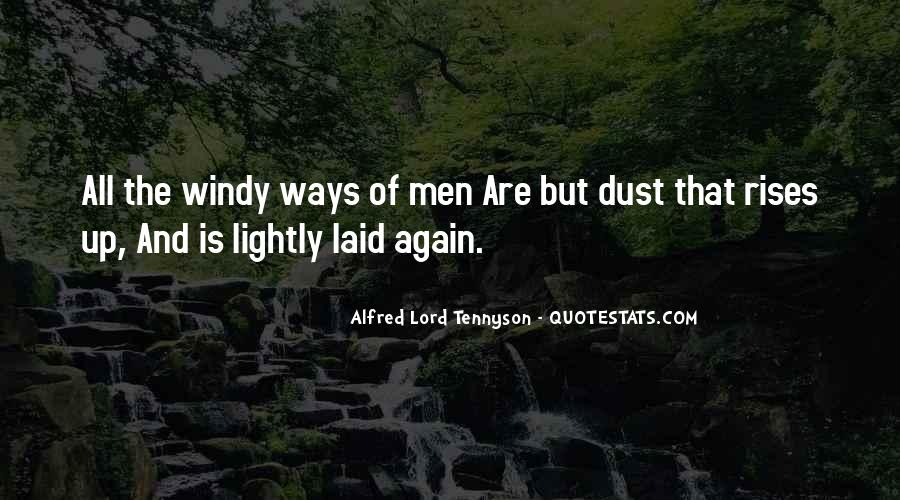 Tennyson Alfred Quotes #179890
