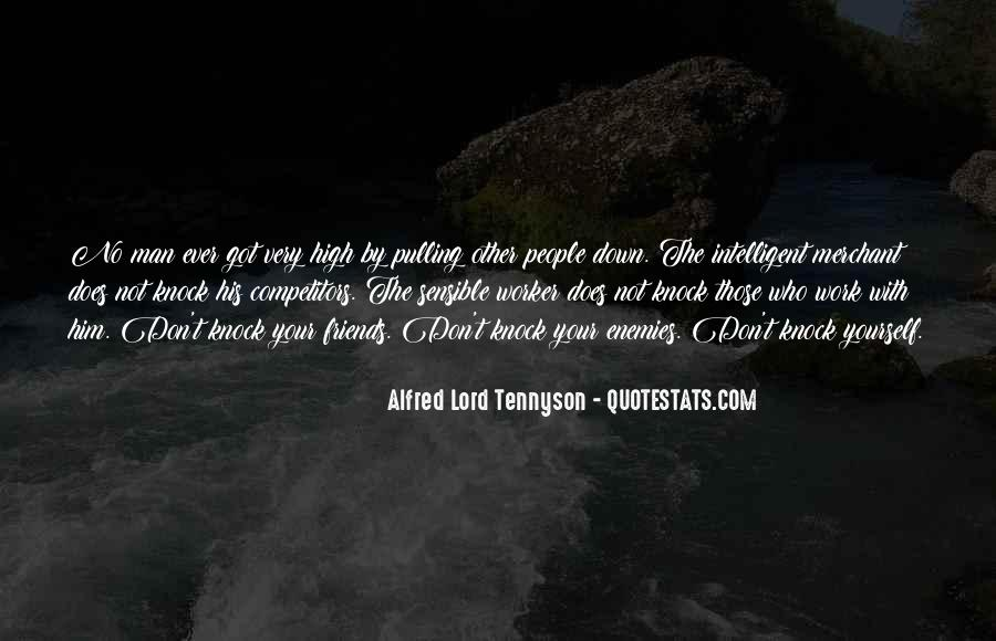 Tennyson Alfred Quotes #194550