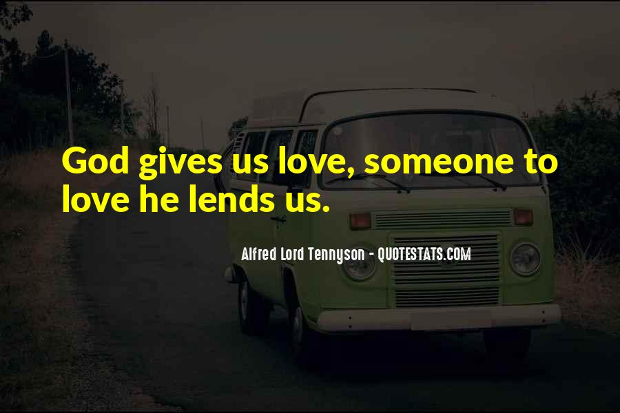 Tennyson Alfred Quotes #203851