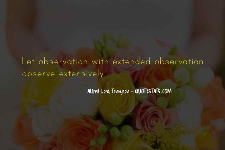 Tennyson Alfred Quotes #259735