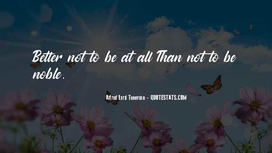 Tennyson Alfred Quotes #263632