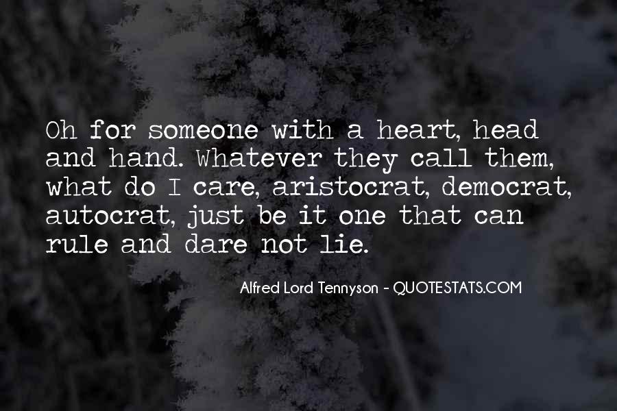 Tennyson Alfred Quotes #274868