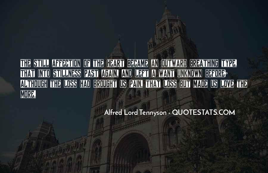Tennyson Alfred Quotes #279810
