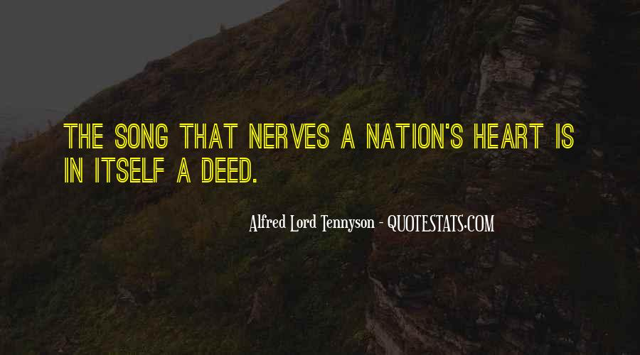 Tennyson Alfred Quotes #282421