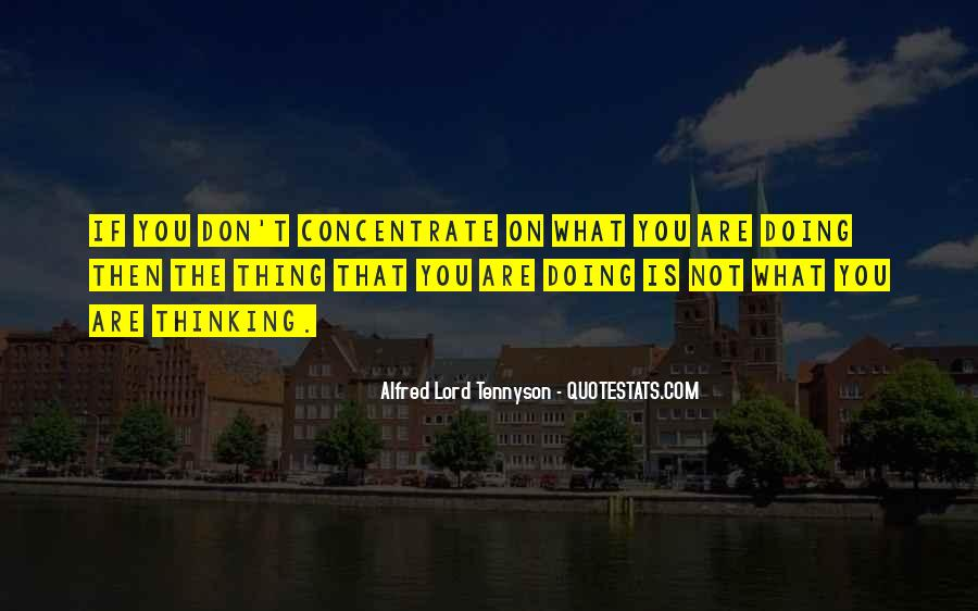 Tennyson Alfred Quotes #313091