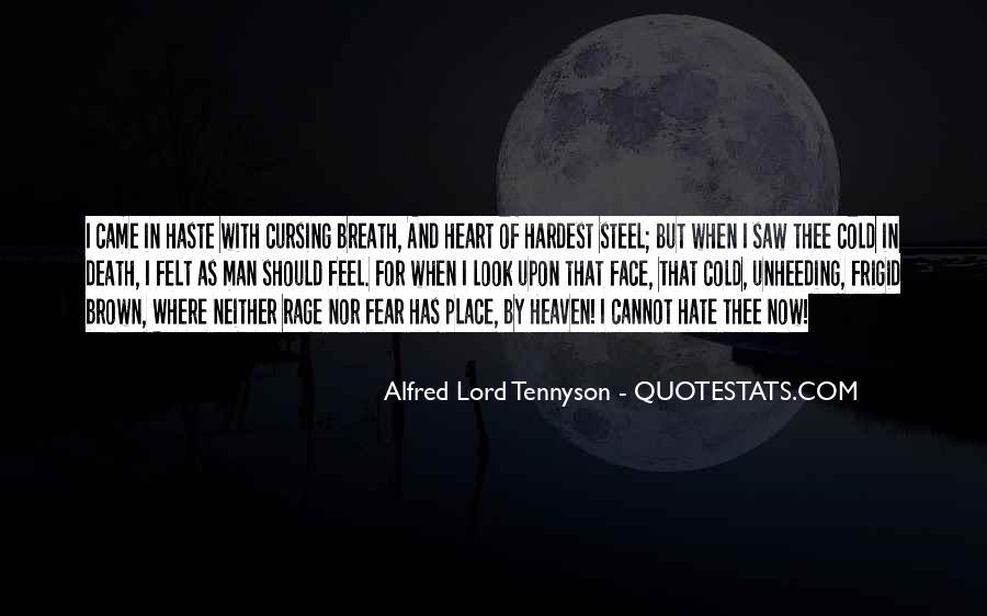 Tennyson Alfred Quotes #321832