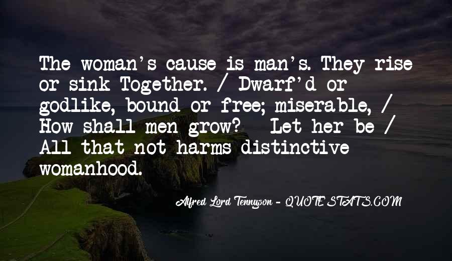 Tennyson Alfred Quotes #325874