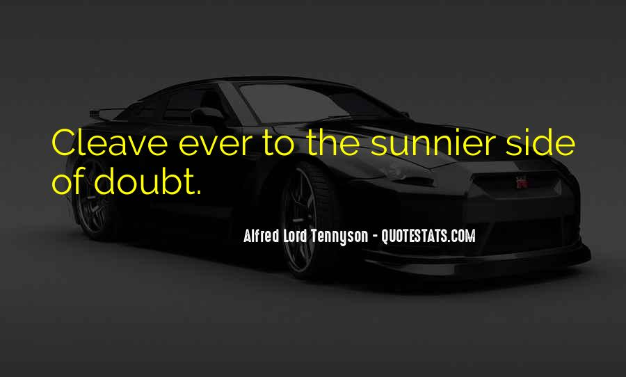 Tennyson Alfred Quotes #342595