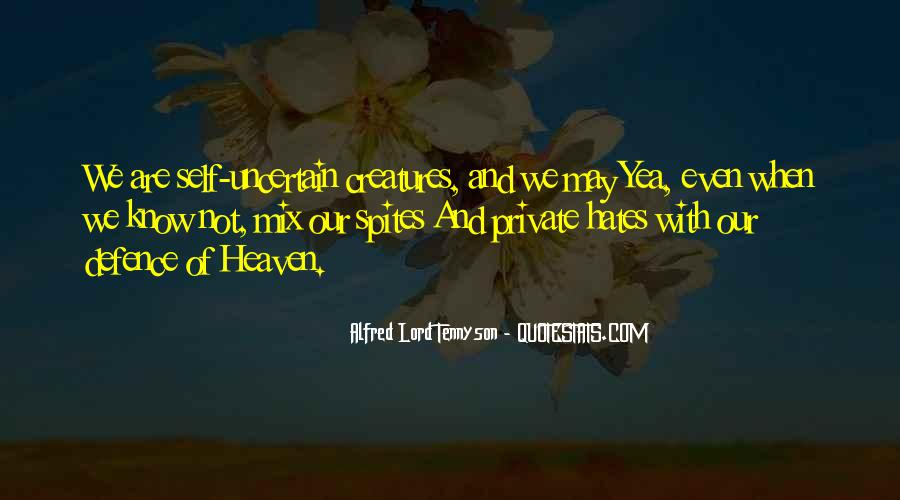 Tennyson Alfred Quotes #363475