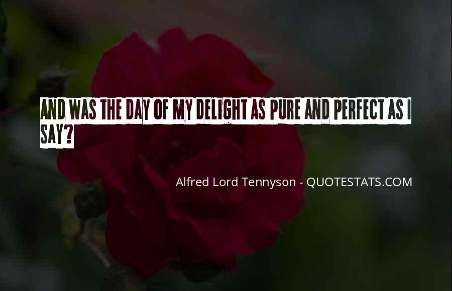 Tennyson Alfred Quotes #366264