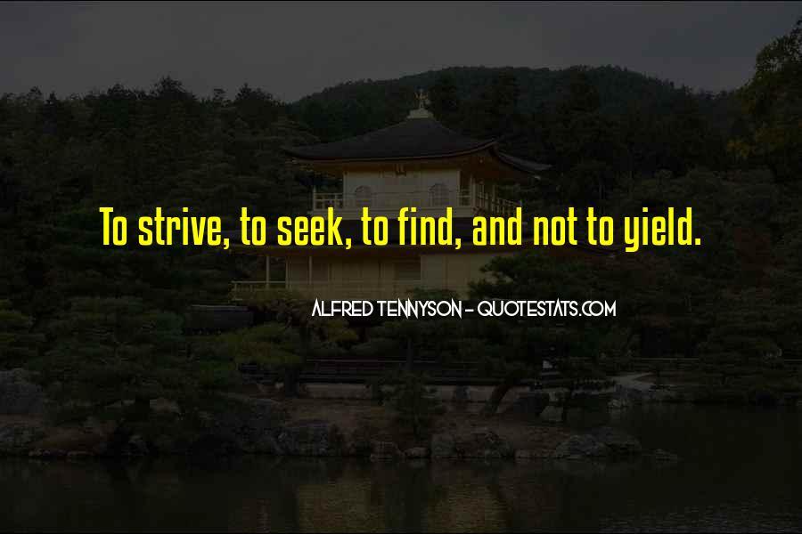 Tennyson Alfred Quotes #368305
