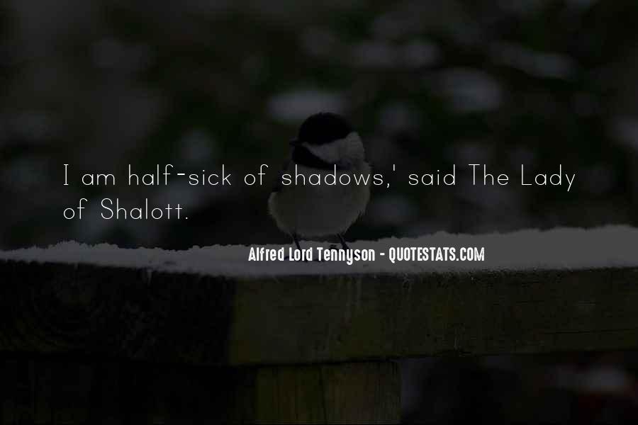 Tennyson Alfred Quotes #372984