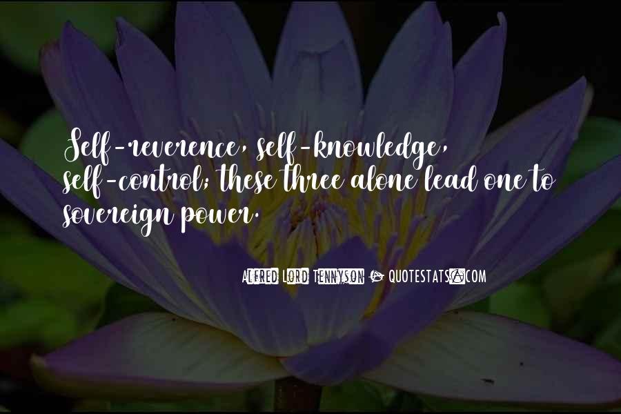 Tennyson Alfred Quotes #376632
