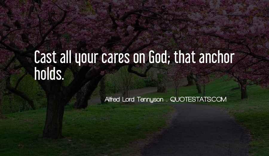 Tennyson Alfred Quotes #381630