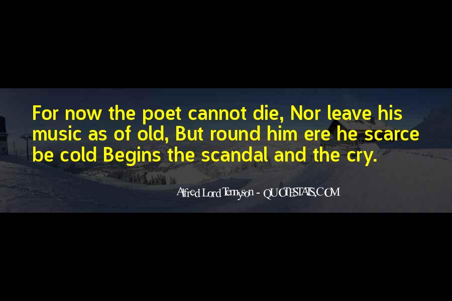 Tennyson Alfred Quotes #385697