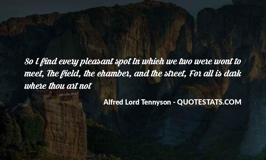 Tennyson Alfred Quotes #46254