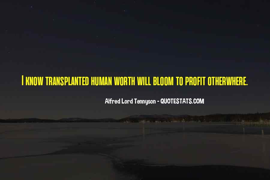 Tennyson Alfred Quotes #47397
