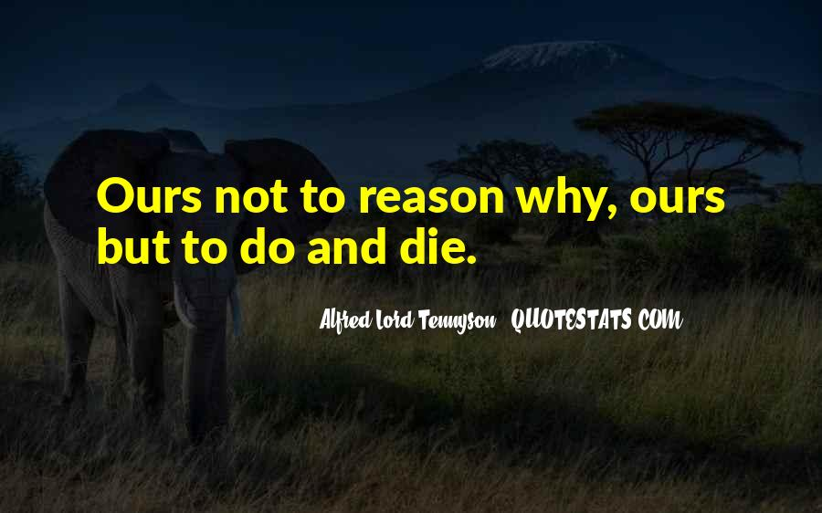 Tennyson Alfred Quotes #50873