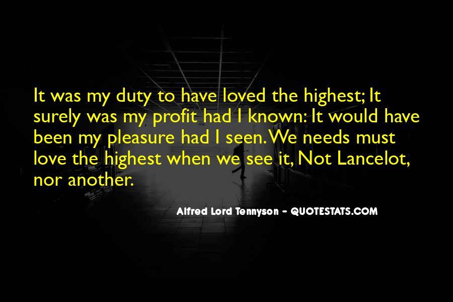 Tennyson Alfred Quotes #55859