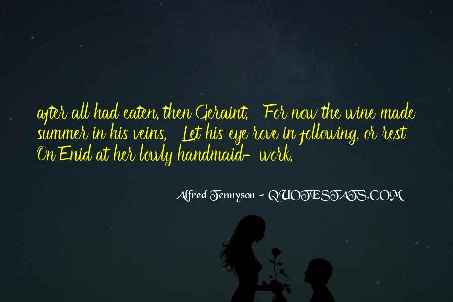 Tennyson Alfred Quotes #57303