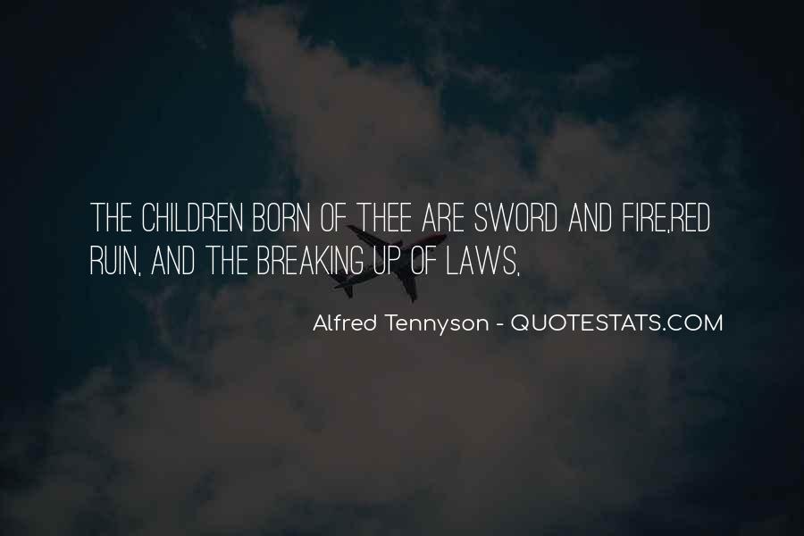 Tennyson Alfred Quotes #63660