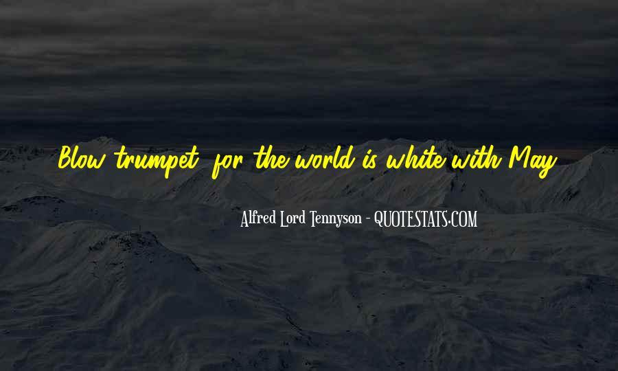 Tennyson Alfred Quotes #66853