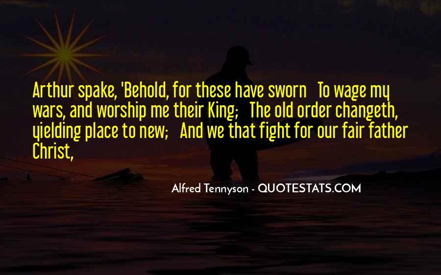 Tennyson Alfred Quotes #80931