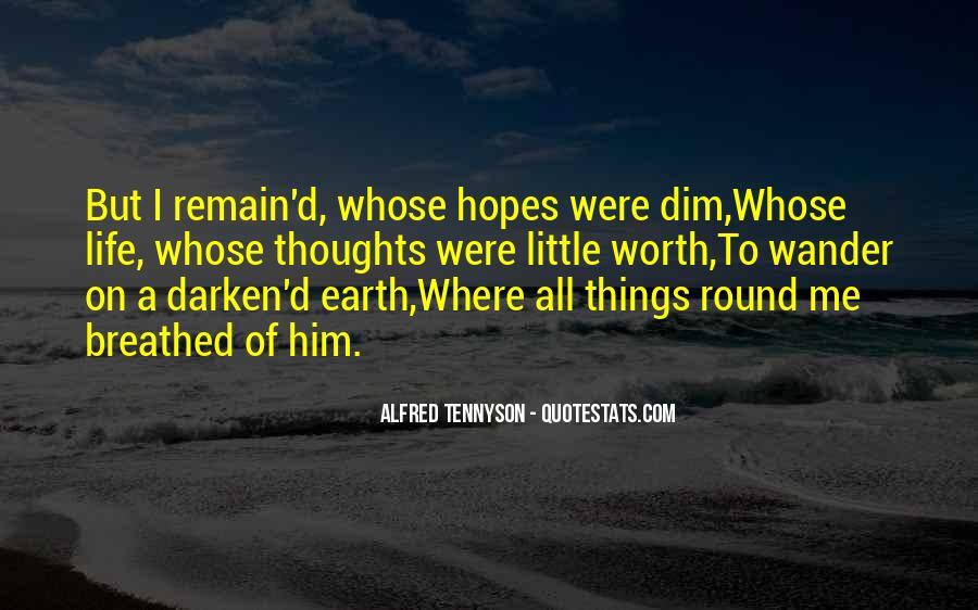 Tennyson Alfred Quotes #96091