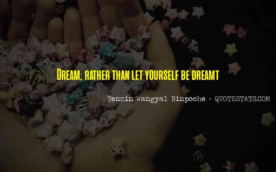 Tenzin Rinpoche Quotes #1286395