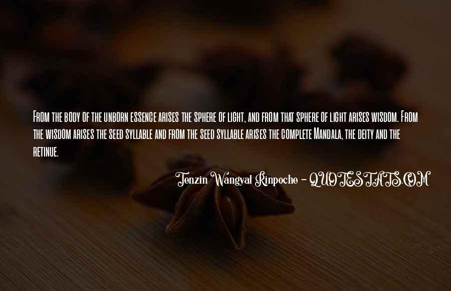 Tenzin Rinpoche Quotes #1697696