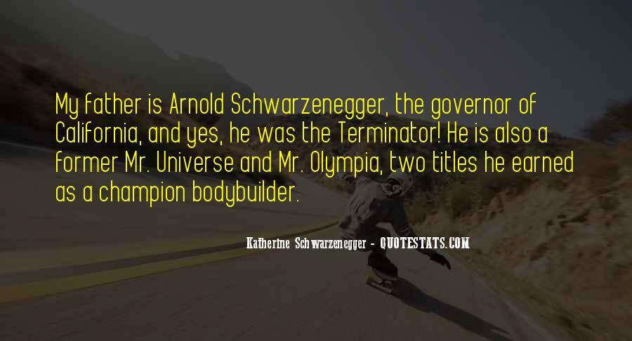 Terminator Schwarzenegger Quotes #1103225