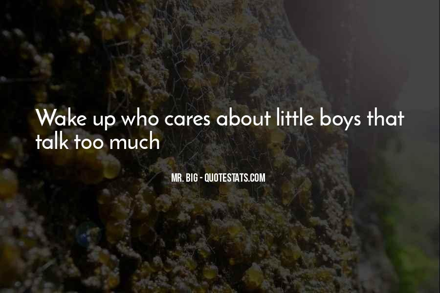 Quotes About Mr Big #907114