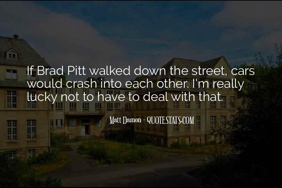 Quotes About Brad Pitt #127247