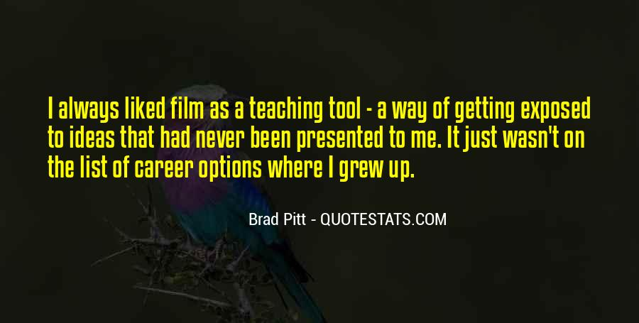 Quotes About Brad Pitt #13892