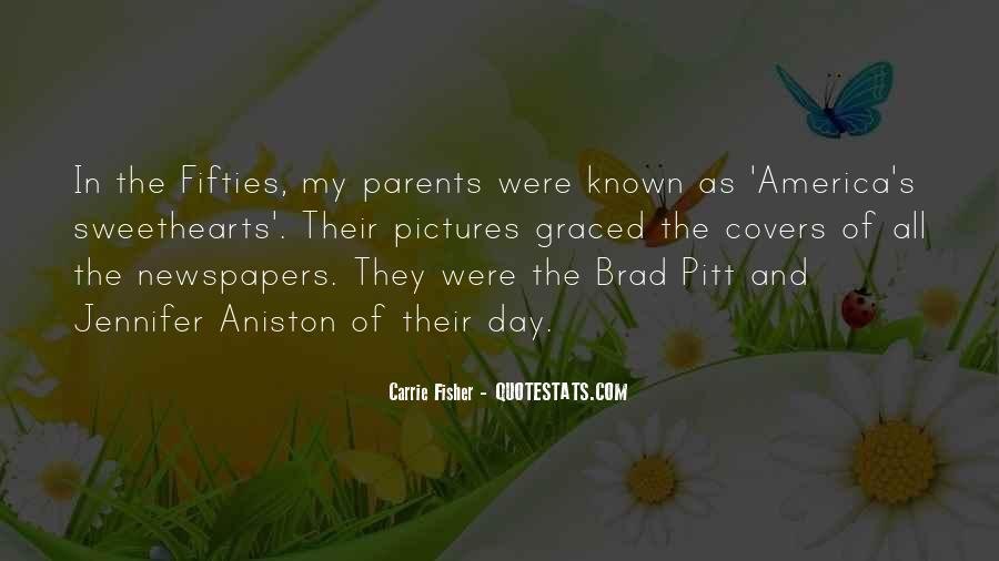 Quotes About Brad Pitt #169027