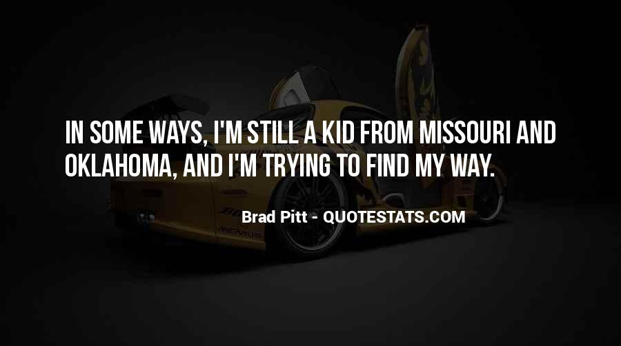 Quotes About Brad Pitt #182909