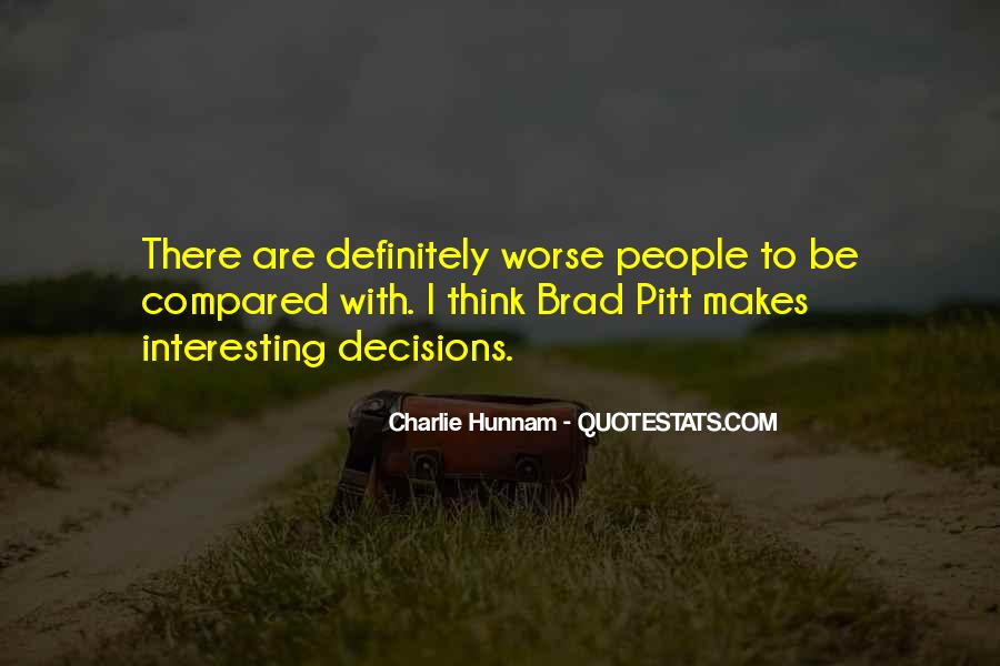 Quotes About Brad Pitt #19976
