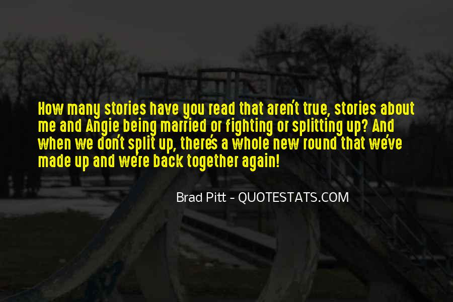Quotes About Brad Pitt #300462