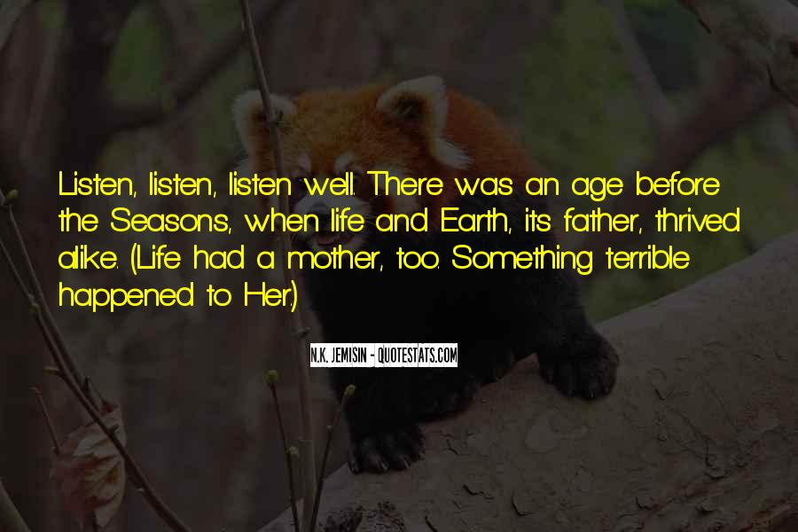 Terrible Father Quotes #1262038