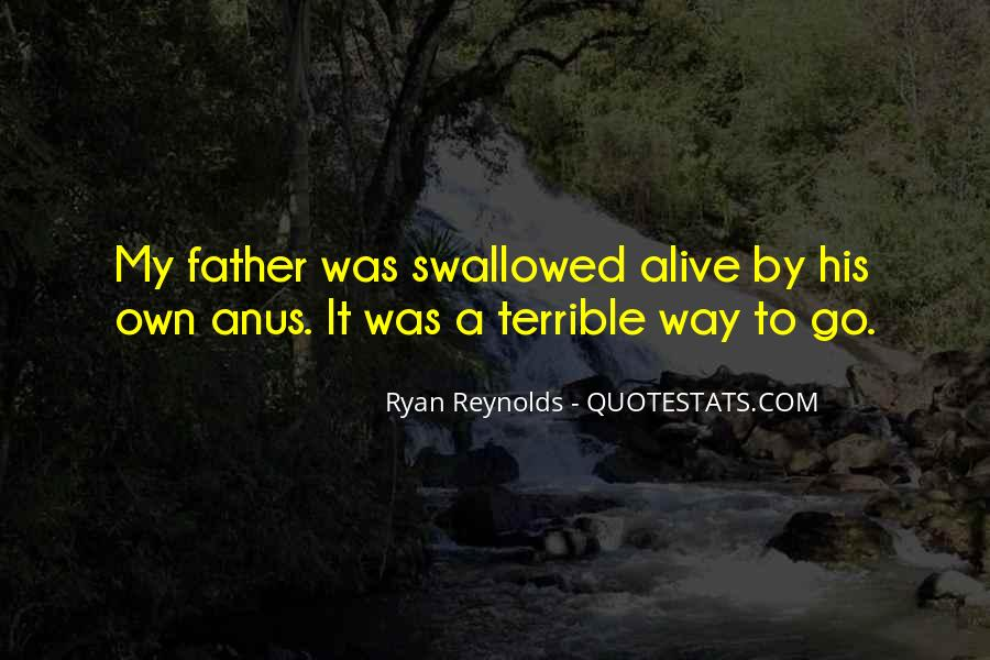Terrible Father Quotes #1520096