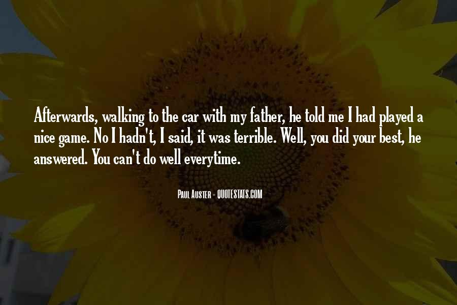 Terrible Father Quotes #311063