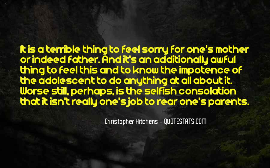 Terrible Father Quotes #849564