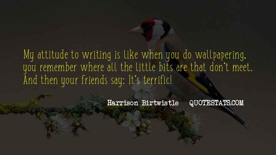 Terrific Attitude Quotes #1041673