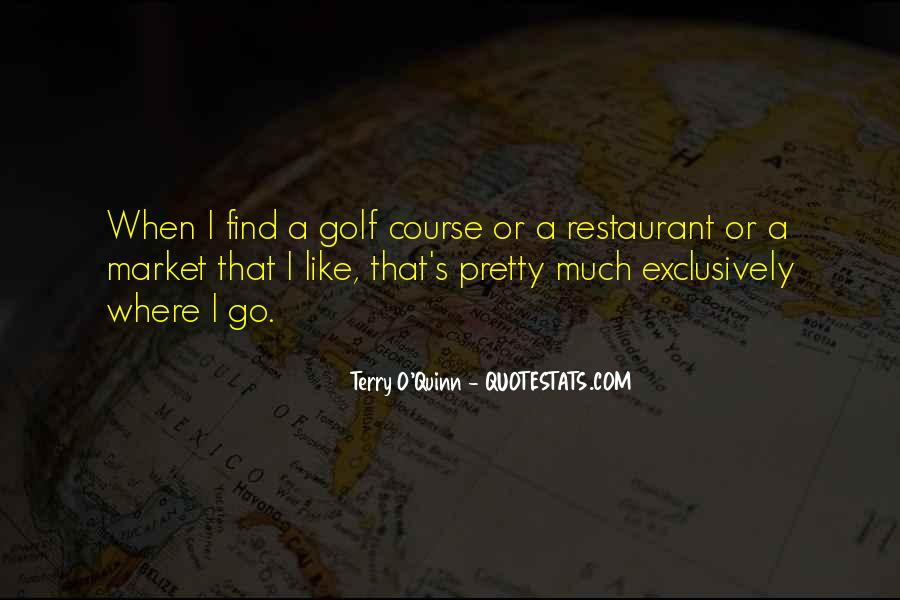 Terry O'neill Quotes #1110328