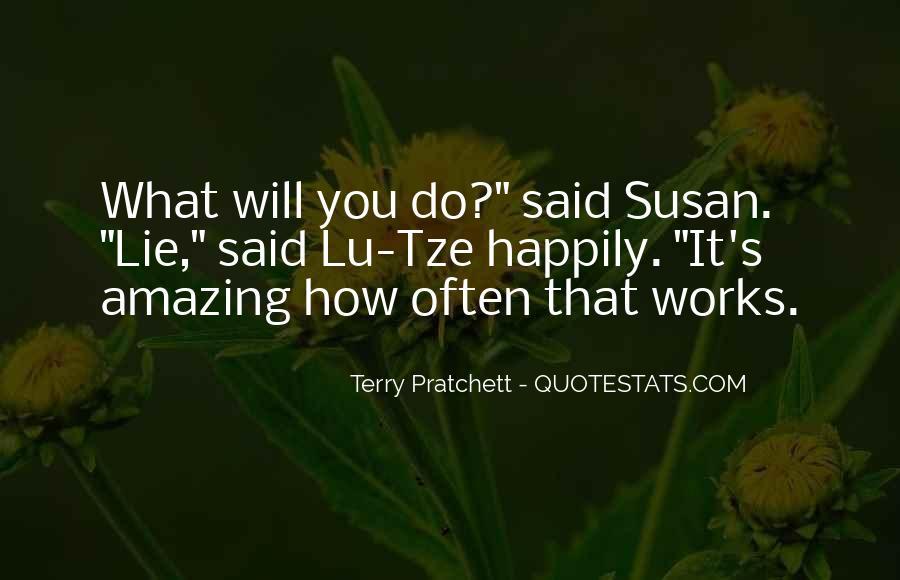 Terry Pratchett Lu Tze Quotes #1319206