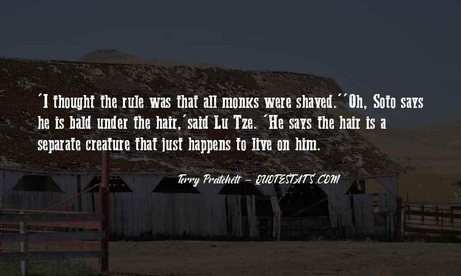 Terry Pratchett Lu Tze Quotes #1558528
