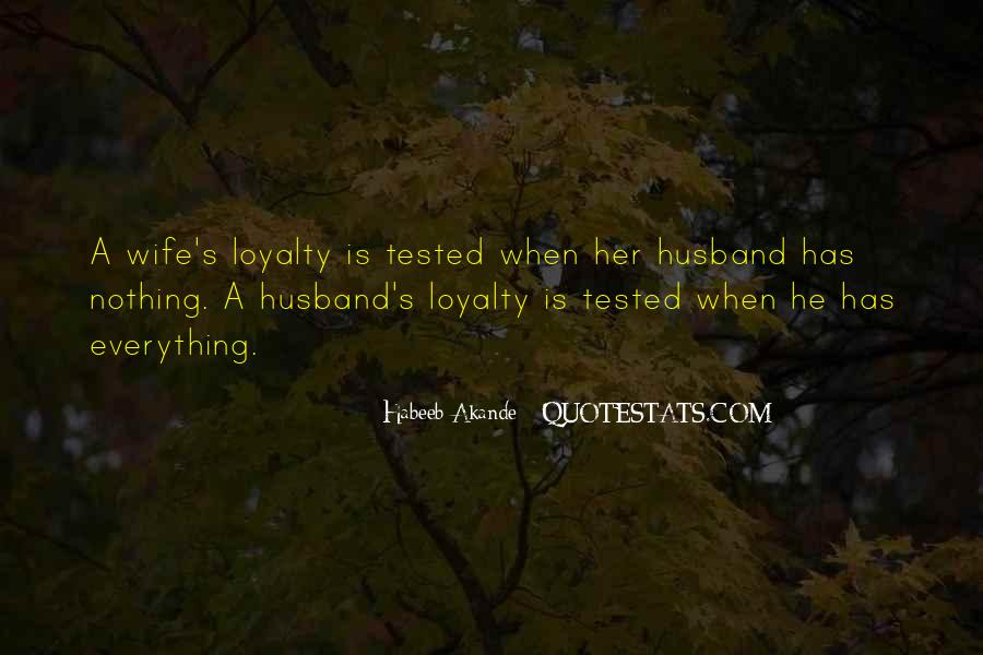 Tested Marriage Quotes #309667