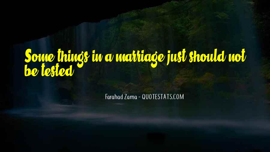 Tested Marriage Quotes #327245